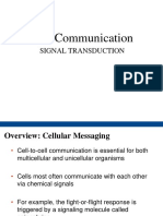 Cell Communication - DA