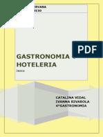 Gastronomia y Hoteleria