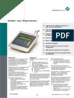 Disomat Weight Indicator