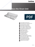 Drum Unit Replacement Guide Brother