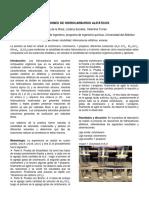 Lab Quimica Reacción de Hidrocarburos Alifáticos