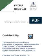 Autonomous Vehicle Zones