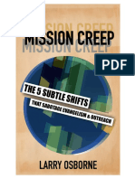 Mission Creep - Larry Osborne