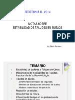 Estabilidad de Taludes en Suelos-PABLO GIORDANO