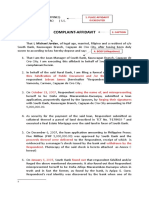 Complaint-Affidavit (Estafa Thru Falsification and Forgery)