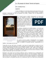 Almeida-Contemplación y Acción en Santo Tomás (2011)