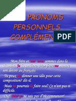 Les Pronoms Personnels Compl_ments