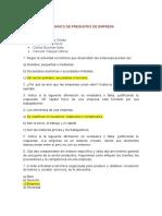 Banco de Preguntas Sobre Empresa (2)