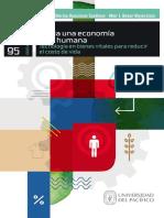 Hacia una economía más humana Tecnología en bienes vitales para reducir el costo de vida