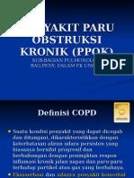 Penyakit Paru Obstruksi Kronik (Ppok)