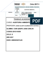 Ta. Auditoria Ambiental 2017 1 m1