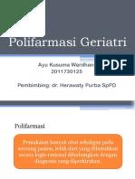 POLIFARMASI GERIATRI