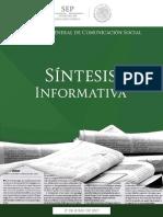 Sintesis Informativa Mayo 2017
