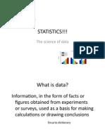 Statistics PDF