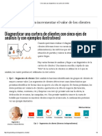 Clientes Cinco Ejes Para Diagnosticar Una Cartera de Clientes