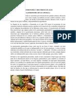 Gastronomia y Recursos Locales de Guatemala