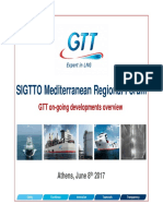 GTT (2017), Update on Latest Developments-SIGTTO RF