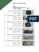 Bengkulu Pebble Stone