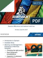 Samson (2017), Correct HMPE Selection SIGTTO RF
