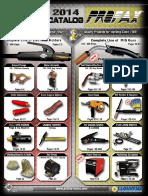 "Profax Platinum Series Lincoln LN-25 Pro 400 Amp 1//16/"" 15/' MIG Gun"