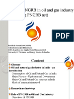 Role of PNGRB in Oil and Gas Industry