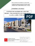 Contrat Etude 700 Logts Jijel Aadl 2017