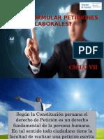 Sesión 9 - Ppt Cómpo Formular Peticiones Laborales