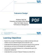 8-1 LECTURE Tolerance Design Part1