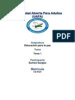 Educacion Para La Paz 1