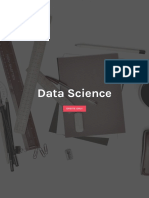 Data Science and Engineering
