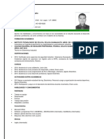 Curriculum 2016 Carlos Alberto Júarez Gómez