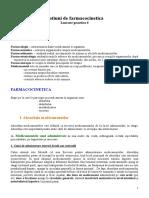 Lucrare Practica 04 - Notiuni de Farmacocinetica