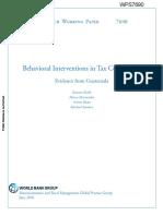 Kettle Et Al. 2016 Guatemala Tax World Bank Working Paper June2016