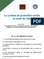Protection Sociale - Présentation Mali