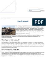 Soil Cement