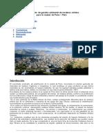 Mejoramiento Gestion Ambiental Residuos Solidos Puno Peru