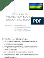 Protection Sociale - Présentation Rwanda