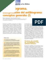 El Antibiograma I