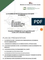 Protection Sociale - Présentation Sénégal