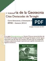 3 Historia de La Geotecnia Citas Destacadas de Terzaghi