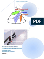 Formulas de Geometria Analitica. 2222222