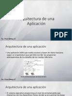 Arquitectura de Una Aplicacion
