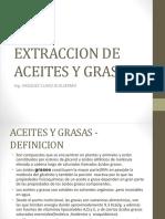 Extraccion de Aceites y Grasas Gvc