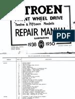 [CITROEN] Manual de Taller Citroen 12 y 15 Ingles