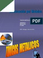 Conf. 4 Intoxicación Por Metales