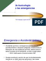 Conf. 3. Nociones Sobre Emergencias Químicas.