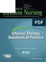 Infusion Therapy Standards of Practice (INS, 2016)
