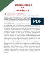 Introducción a La Hidráulica