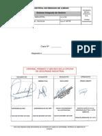 GSSL - SIND - PETS105 Control de Riesgos de Caídas
