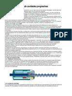 Sistema de Bombeo de Cavidades Progresivas BCP